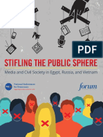 Stifling the Public Sphere Media Civil Society Egypt Russia Vietnam Full Report Forum NED