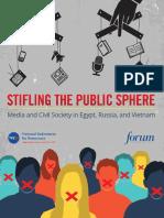 Stifling the Public Sphere Media Civil Society Egypt Russia Vietnam Full Report Forum NED