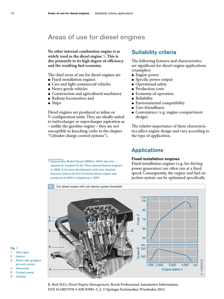 Fixed Piston Engine Diagram Areas Of Use For Diesel Engines Internal Combustion