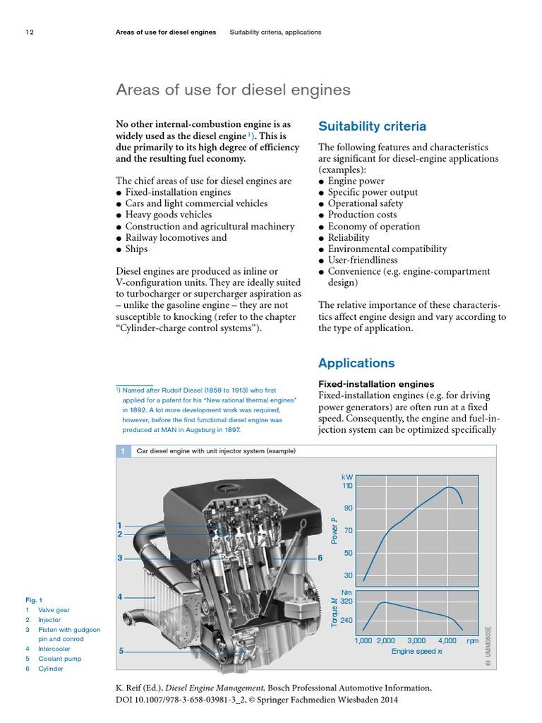Areas of Use for Diesel Engines | Diesel Engine | Internal Combustion Engine