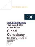 the david icke guide to the global conspiracy brain evolution