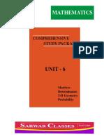 (Unit 6) Mathematics