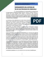 El Desmoronamiento Del Sistema de Distribución de Electricidad en Venezuela (2018)