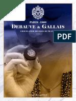 Catalogue Debauve & Gallais