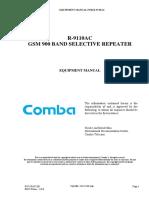 Repeater Comba R-9110AC