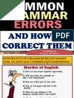 7 Grammatical Errors
