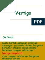 148958920 Kuliah Vertigo Ppt