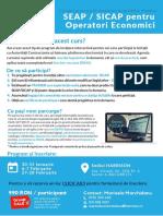 SEAP SICAP Pentru Operatori Economici - Ianuarie-Februarie Bucuresti q9JWgzt