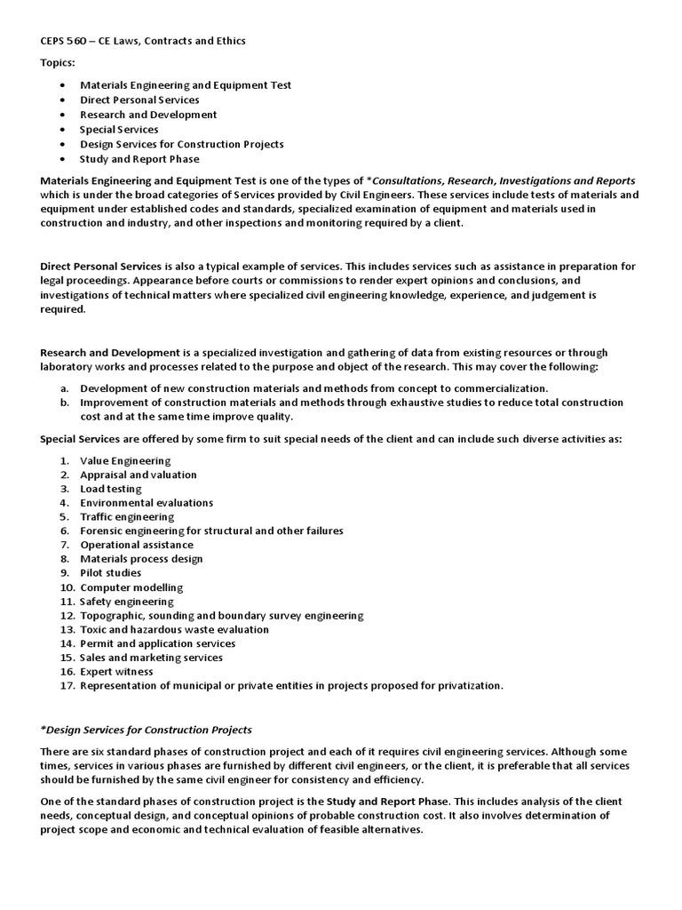 Report | Engineering | Real Estate Appraisal