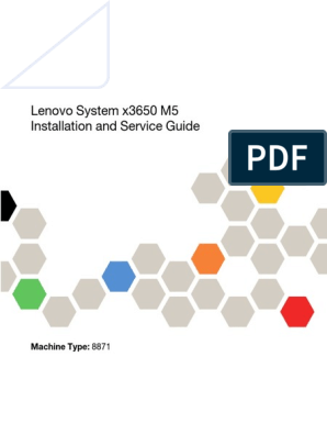 Lenovo System x3650 M5 Installation and Service Guide | Usb | Power