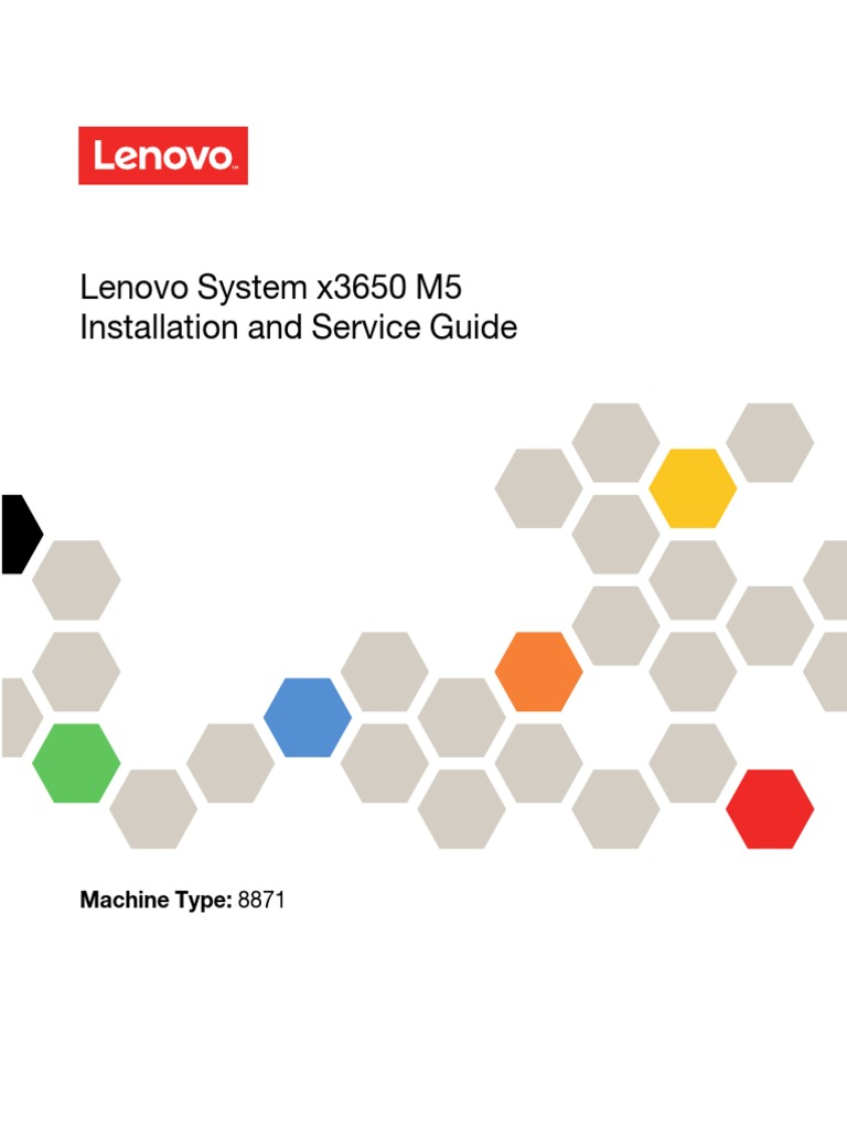 Lenovo System x3650 M5 Installation and Service Guide | Usb