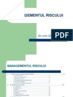 Managementul RISCULUI 2017-2018