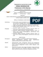 SK Waktu Penyampaian Hasil Laboratorim Pasien Urgen