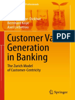 Customer Value Generation in Banking_ the Zurich Model of Customer-Centricity