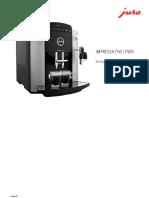 Manual Jura Impressa f50