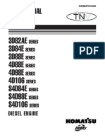 TNV Series Diesel Engine WEBMTNV000 SAMPLE Komatsu