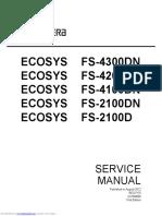 Kyocera Fs-4200 Service Manual