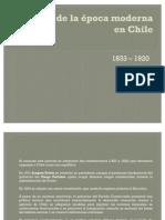 El proceso de modernización en Chile
