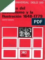 Gunter Barudio La Época Del Absolutismo y La Ilustración 11-142