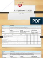 Plan Operativo Anual 2016 -2017