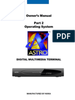 Astro Digital Receiver Userguide en Part2