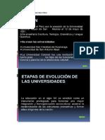 Educacion Universitaria en El Peru