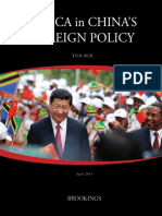 Africa in China Brookings Report