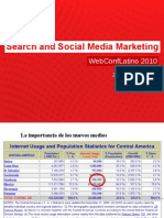 Search Social Marketing Webconf