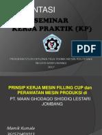 Seminar Kerja Praktik (Kp)