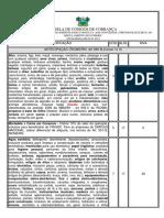 Tabela de Códigos de Cobrança 02-05-2013