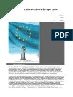 Religia, o Noua Dimensiune a Europei Unite