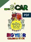 Big Car 2015 Coloring Book