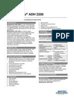 Basf Masterbrace Adh 2200 Tds 301963
