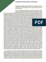 Contenidos de Las Clases Esotéricas. Rudolf Steiner.
