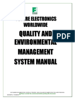 Future Electronics - Manual Qualidade e Ambiental QMS_EMS Manual