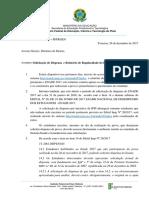 Memo 078.2107 Relatorio de Regularidade ENADE 2017