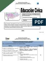 Educacion Civica Bachillerato 2018