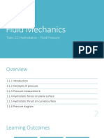 fluid mechanic:hydrostatic fluid pressure