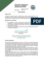 Investigación Sistema Octal y Hexadecimal