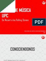 UPC Presentation