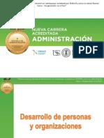 Desarrollo de Las Personas y de Las Organizaciones