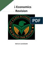 As Economics Revision