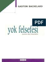 Gaston Bachelard - Yok Felsefesi.pdf