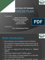 Business plan dairy farm.ppt