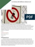 Maneras de Combatir El Abuso Del Teléfono Celular en El Lugar de Trabajo _ Pequeña y Mediana Empresa - La Voz Texas