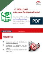 Sesión 12 ISO 14001