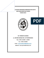 Cover Buku Pedoman Pasien Safety