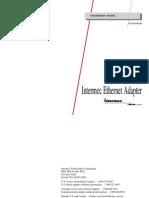 Intermec Ethernet Adapter Guide[1]