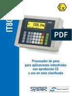 IT8000 MODULO DE PESO