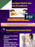 Komunikasi Efektif Pramusaji RSMH (Yenita)